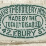 World War 1 Soldier's needlepoint